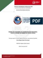Ojeda Carlos Diseño Automatizacion .Industrial Bombeo Aguas Acidas