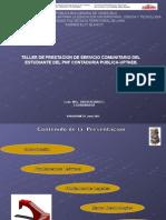Presentación Taller de Servicio Com. 2015