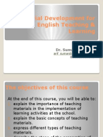 1. Material Development for Learning (1)