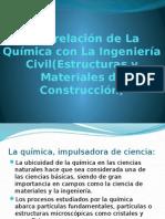 Interrelación de La Química Con La Ingeniería Civil