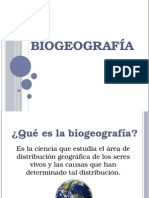 biogeografa