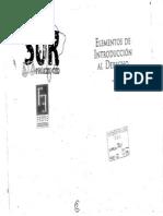 Elemento de Introduccion Al Derecho Pettorutti