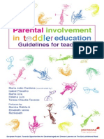 Parental involvement in toddler's education. Guidelines for teachers.