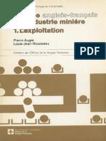 Lexique du domaine minier