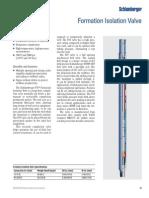 p43 Formation Isolation Valve