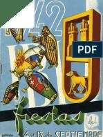 1942 - Libro Oficial de Fiestas de Moros y Cristianos de Ibi