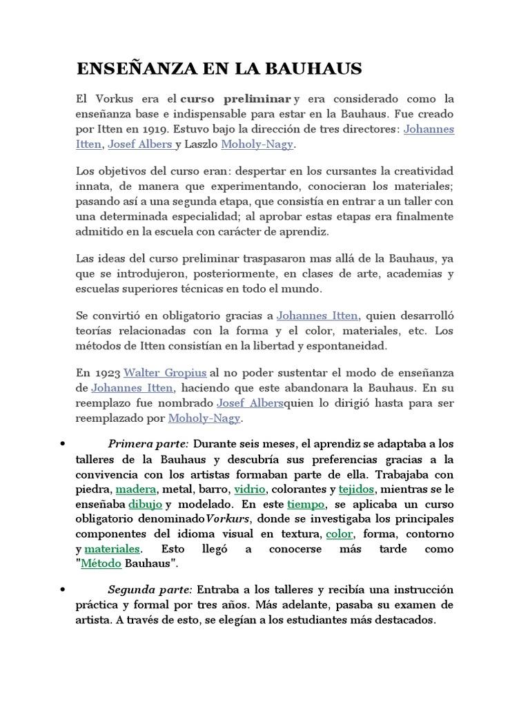 Bauhaus e Historia