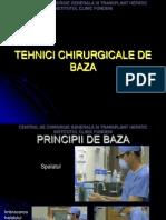 Tehnici Chirurgicale de Baza.