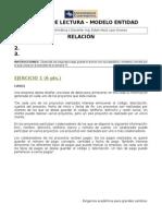 Bi1006 Control de Lectura 1 - Modelo Entidad Relación