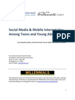 PIP Social Media and Young Adults Report