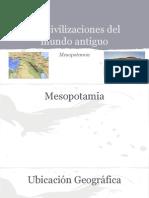 Las Civilizaciones Del Mundo Antiguo MESOPOTAMIA