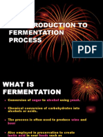 An Introduction to Fermentation Process