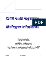 Why Parallel?