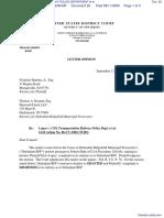 LOPEZ v. CSX TRANSPORTATION RAILWAY POLICE DEPARTMENT et al - Document No. 28