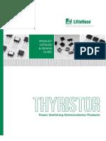 Littelfuse Thyristor Catalog Datasheets App Notes