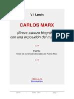 Carlos Marx, 1913 - Lenin