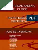 Uac - Investigacion Cientifica