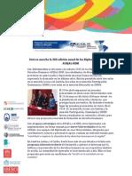 Inicio de Diplomados en ddhh AUSJAL-IIDH 2015