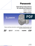 Panasonic Lumix Dmcfz72 user manual