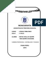 Monografia Administracion Tributaria Municipal (1)