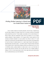 Minding Student Learning in Virtual Learning Scenarios