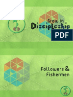 Grow in Discipleship 1 - Followers & Fishermen