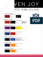 WJ ColorSeries NFL