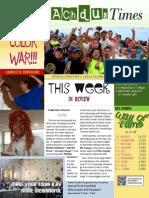 Achdus Times 2014 - Week 4