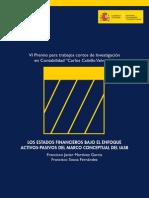 VI Premio para trabajos cortos de investigacion en contabilidad los estados financieros bajo el enfoque activos-pasivos del macro conceptual del iasb