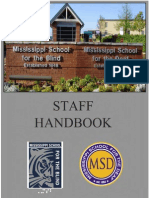 MSD Staff Handbook