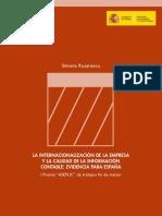 la internacionalizacion de la empresa y la calidad de la informacion contable