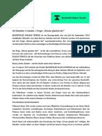 """Medienmitteilung 03.02.2015 """"Baushtelle"""