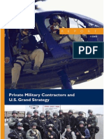 Private Military Contractors 2009