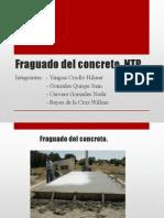 Fraguado Del Concreto - Expo. Martes