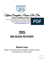 Agenda 2015 Fuente de Paz