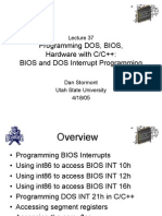 Bios Interrupt Programming