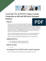 Putty Console