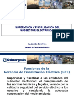3.Supervision y Fiscalizacion del Subsector Electricidad.ppt
