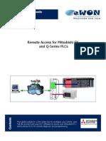 EWON (Remote Access for Mitsubishi PLCs)
