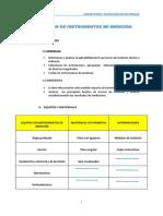 Selección de Instrumentos de Medición