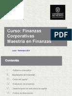 Presentación Finanzas Corporativas UP Maestría en Finanzas 2015 2S (Sesión 3) VPDF