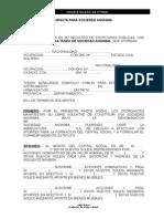 Constitucion Modelo Minuta Sa 130401232055 Phpapp01
