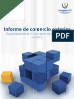 Informe de Comercio Exterior de Uruguay Abril 2015