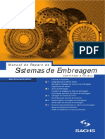 Manual de Reparo de Sistemas Embreagem