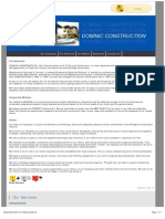 Contractors | Engineer - Dominic Construction Inc