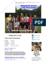 July 2015 Ridgefield Newsletter