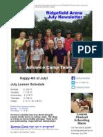 July 2015 Ridgefield Newsletter