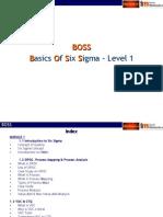 BOSS - Module 1(basics of six sigma)