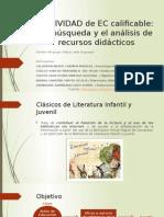 Literatura Infantil y Juvenil Biblioteca Cervantes