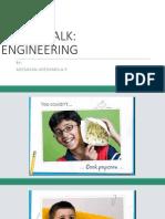 Career Talk on Engineering for kids.
